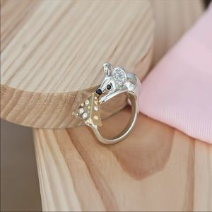 NWT Kate Spade mouse and cheese ring 7/8